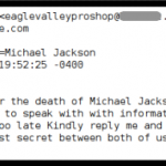 La Muerte de Michael Jackson: Spam y Revolución de la Web