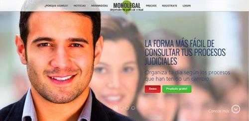 Monolegal aplicacion para Abogados