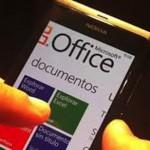 Microsoft Office gratis para celulares y tabletas