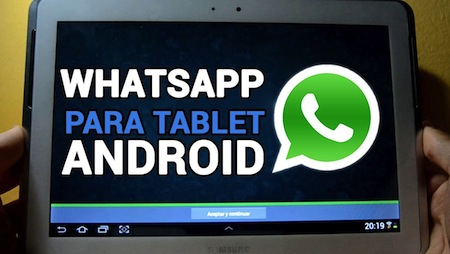 Instala WhatsApp en Tablet Android