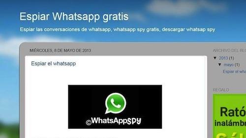 Ojo con espiar las conversaciones de WhatsApp