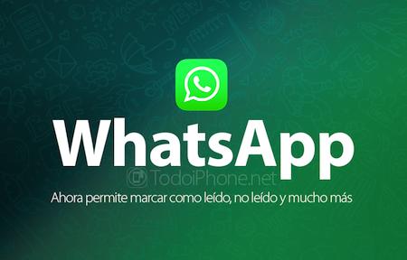 WhatsApp y los mensajes No Leidos
