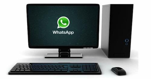 Whatsapp para computadores de escritorio