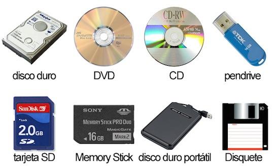 Dispositivos De Almacenamiento Tecnolog A Technology